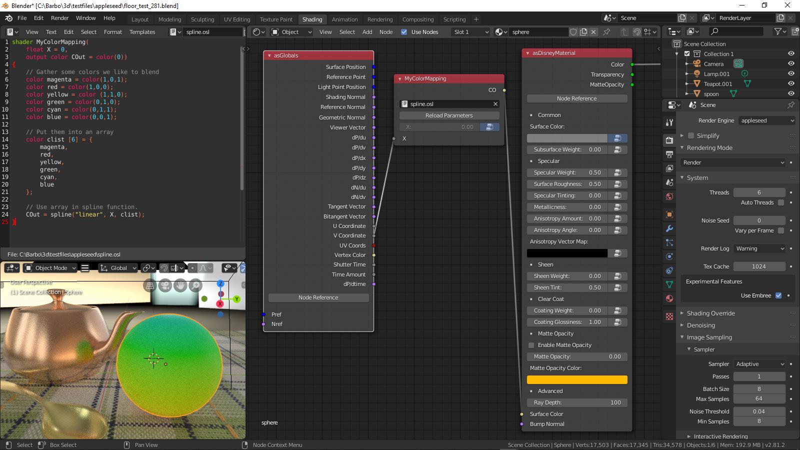 Manipulating UV's in Blender, tiled textures & OSL script